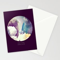 up to Space!  Stationery Cards