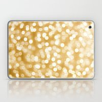 Raining Gold Laptop & iPad Skin