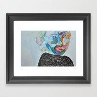I Used To  Framed Art Print