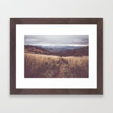Bieszczady Mountains Framed Art Print