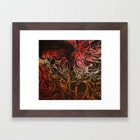 Petrol Framed Art Print