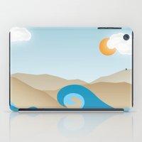 Beach Paradox iPad Case