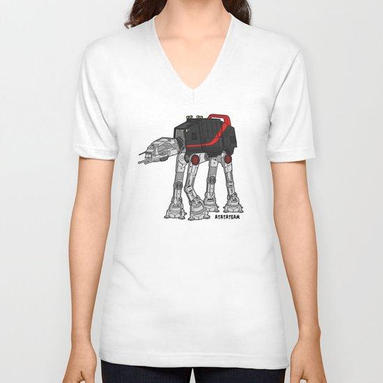 ATATATEAM V-neck T-shirt