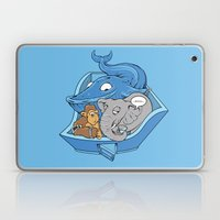 The Blue Whale in the Room Laptop & iPad Skin