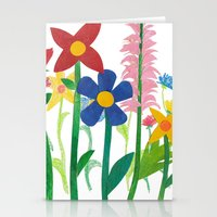 Birthday Flowers Stationery Cards