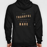 Be Thankful Hoody