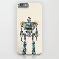 Modern Iron Giant iPhone 6 Slim Case