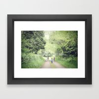 Let's Go On A Nature Wal… Framed Art Print