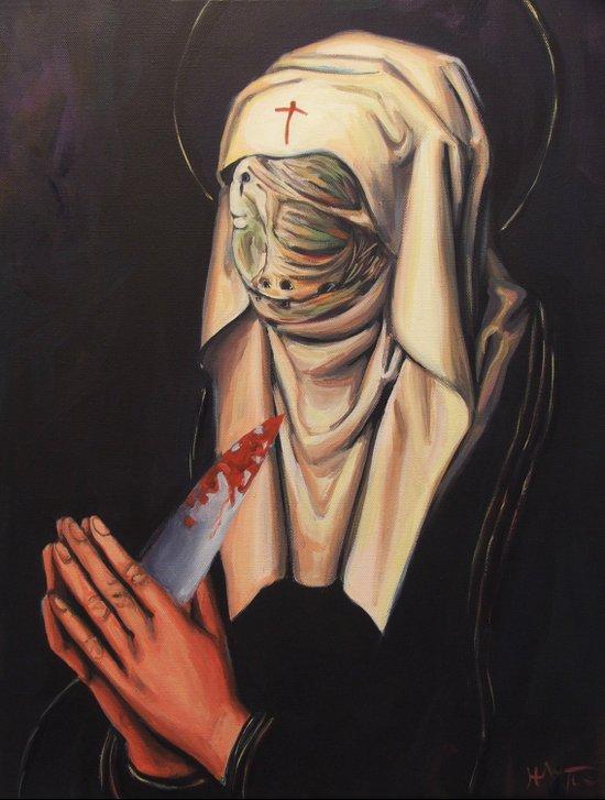Nurse Dolorosa Art Print