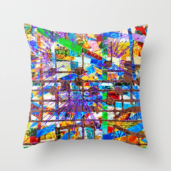 Frank (Goldberg Variations #10) Throw Pillow