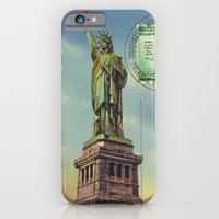 iPhone & iPod Case featuring Liberty by Msimioni