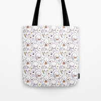Heart Kids Pattern Tote Bag