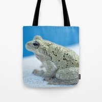 Ribbit Tote Bag