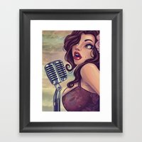 One More For The Road Framed Art Print