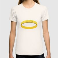 Cheater Womens Fitted Tee Natural SMALL