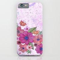 My pink garden iPhone 6 Slim Case
