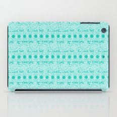 Lacey Lace - White Teal iPad Case