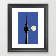 Berlin Moon Framed Art Print