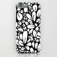 iPhone & iPod Case featuring Crazy Flowers by marianastutz