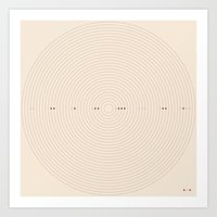 Art Print featuring Alignment  by Wolves In Space
