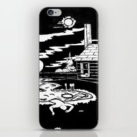 Under The Pond iPhone & iPod Skin
