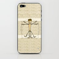 Vitruvius iPhone & iPod Skin