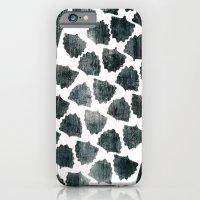 Grey Maple Print iPhone 6 Slim Case