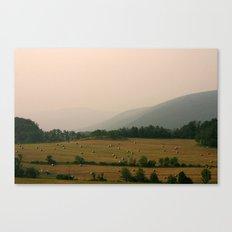 West Virginia Farmer Canvas Print