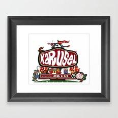 KARUSEL  Framed Art Print