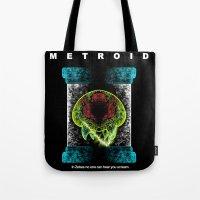 Metroid Tote Bag
