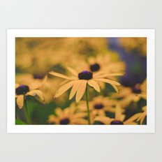 Its all Yellow Art Print