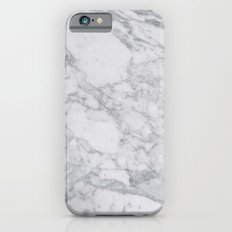 White Marble iPhone 6 Slim Case