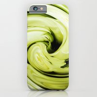 iPhone & iPod Case featuring Roses in Lime by Shalisa Photography