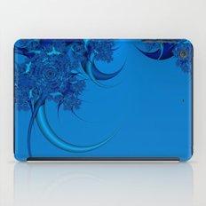 Blue Fractal iPad Case