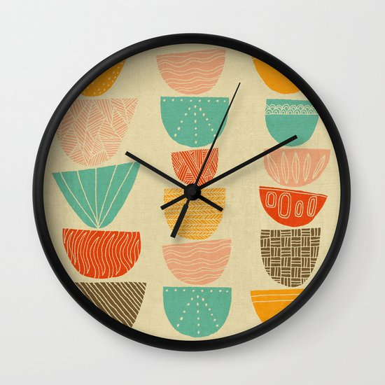 Stacks Wall Clock