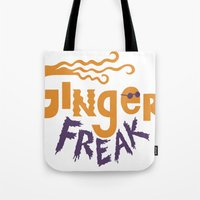 Ginger Freak Tote Bag