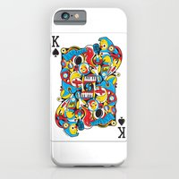 iPhone & iPod Case featuring King Of Spades by Sweaty Eskimo