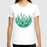 Jungle Rising  Womens Fitted Tee White SMALL