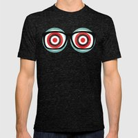 Bullseyes Mens Fitted Tee Tri-Black SMALL