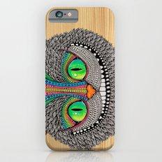 Alice´s Cat Wood iPhone 6s Slim Case