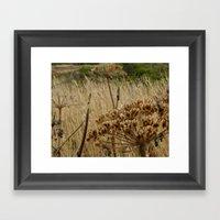 Navaro Bluffs, Fall Flow… Framed Art Print