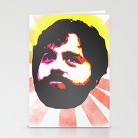 Zach Galifianakis Died for our Sins Stationery Cards