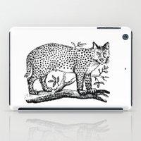 Vintage Cheetah Print iPad Case