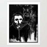 Pessimist  Art Print