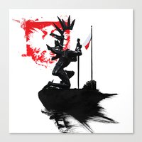 Polish Hussar Canvas Print