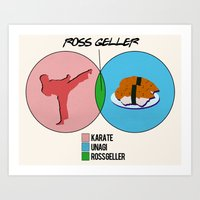 Venn Diagram For Ross Ge… Art Print