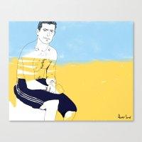 Sur la planche #02 Canvas Print