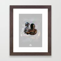 Daft Punk Framed Art Print