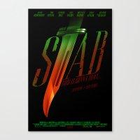 Stab (Movie Poster) Canvas Print