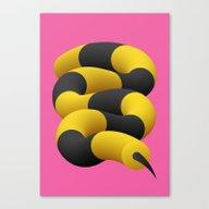 Canvas Print featuring HONEY Slinky by Alessandro Strickner